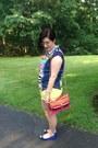 Hot-pink-rebecca-minkoff-bag-yellow-cotton-on-shorts