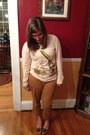 Ivory-bea-dot-sweater-light-orange-old-navy-pants