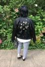 Black-victoria-beckham-x-target-jacket-black-eddie-borgo-x-target-bag