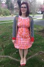 Coral-lilly-pultizer-target-dress-hot-pink-rivet-sway-glasses