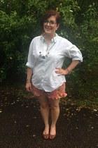 gold Stella Valle for Target accessories - light orange instagram shop shorts