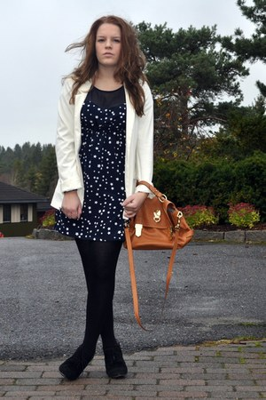 Mulberry bag - H&M blazer