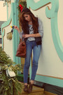 Sky-blue-abercrombie-and-fitch-jeans-crimson-anthropologie-bag