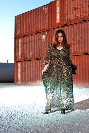 H&M dress - Zara shoes - Alexander McQueen bag