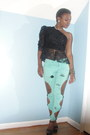 Lace-material-terial-lee-designs-shirt-forever21-remix-pants