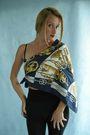 Blue-hermes-scarf