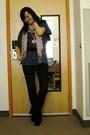 Black-belt-black-zara-boots-blue-uniqlo-jeans-purple-rvca-shirt