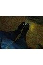 Acne-jeans-black-acne-shoes