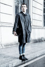 Black-armani-jeans-jacket-black-zara-bag