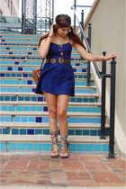 handmade necklace - Urban Outfitters dress - handmade sandals