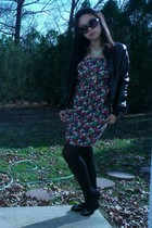 Forever 21 jacket - Betsey Johnson tights - Bamboo shoes - Marc by Marc Jacobs g