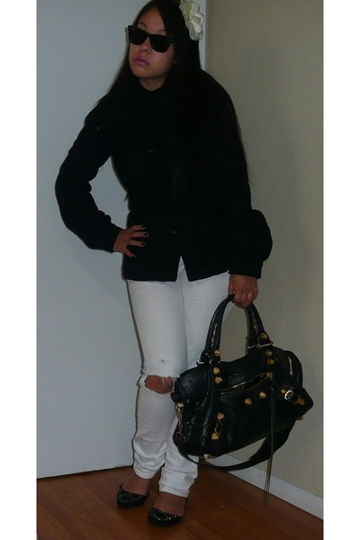 Forever 21 jeans - H&M coat - bongoo shoes - Urban Outfitters accessories