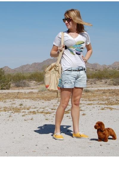 accessories - sunglasses - Zara shorts - Gap shirt - Urban Outfitters shoes