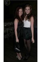 Topshop skirt - H&M top - shoes