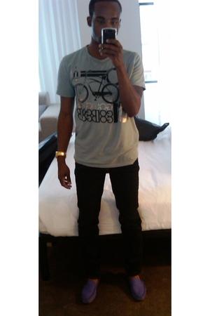forever 21 shirt - True Religion jeans - Michael Kors accessories - Zara shoes
