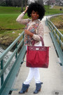 Ruby-red-jessica-simpson-bag-neutral-blouse