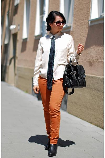 tawny Pimkie jeans - black Fashion Club bag - black Zara sunglasses