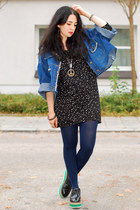 blue oversized denim vintage from Kleiderkreisel jacket