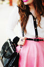 Black-romwe-bag-white-lace-fiigirl-blouse-pink-romwe-skirt