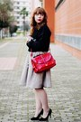 Red-romwe-bag-white-firmoo-sunglasses-cream-banggood-wallet