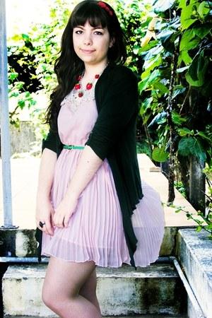 light pink lace OASAP dress - white The Purple Shmurple Shoppe ring