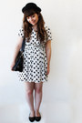 White-hearts-shana-dress-black-thboxes-hat-black-satchel-romwe-bag
