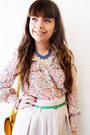 Eggshell-oasap-blouse-mustard-zara-bag-chartreuse-shana-belt