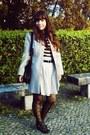 Cream-scalloped-primark-coat-black-bows-oasap-bag-cream-zara-skirt