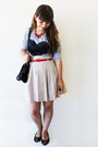 Heart-choies-shirt-romwe-bag-bijulândia-necklace-zara-skirt-romwe-belt