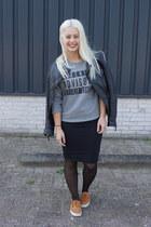 Azuka sweater - Zara skirt