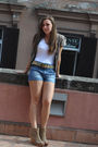 Beige-belt-white-t-shirt-beige-vest-blue-zara-shorts-beige-berska-shoes
