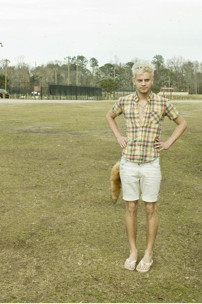 yellow zipia shirt - white Urban Outfitters shorts - brown zipia accessories - w