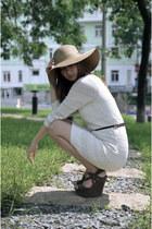 white crochet Mango dress