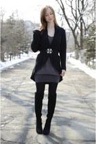 black vintage cardigan
