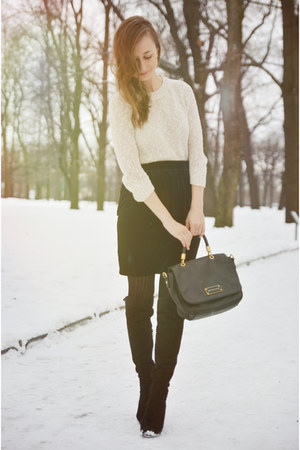 Marc by Marc Jacobs bag - Mango sweater - Mango skirt