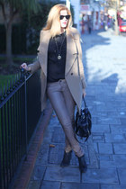 Oasis boots - Oasis coat - Francesco Biasia bag - All Saints pants