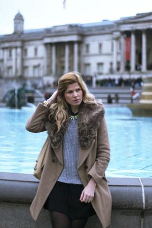 Oasis coat - balenciaga bag - Oasis jumper