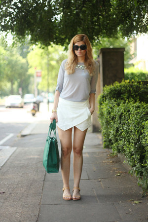 Zara shorts - sam edelman shoes - Francesco Biasisa bag - Celine sunglasses