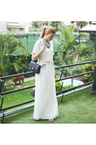 Zara dress - Chanel bag