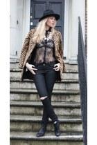 H&M shirt - sam edelman boots - Mango coat