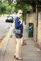new look shoes - River Island shoes - Chanel bag - Zara top