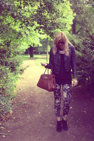 Zara pants - Mulberry bag - Uniqlo jumper