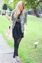 asos boots - Topshop jacket - Balenci bag
