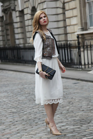 Isabel Marant vest - Zara dress