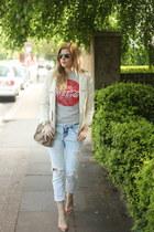 Zara shoes - Zara jeans - Michael Kors bag - Atmosphere top