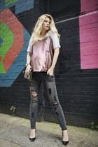 asos jeans - Gucci bag - Christian Louboutin heels