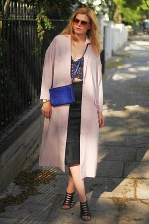 asos coat - Celine bag - Giuseppe Zanotti sandals
