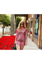 Zara shoes - Topshop dress - Baleciaga bag