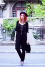 Black-topshop-romper-maroon-new-look-hat