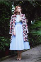 sky blue Coast skirt - Sense coat